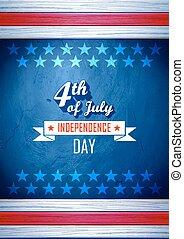 america, giorno, indipendenza, felice