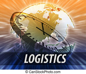America logistics management concept - America international...