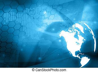 America map technology