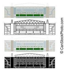 America Mineiro Stadium in Belo Horizonte, Brazil