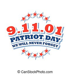America Patriot Day logo