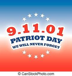 America Patriot Day - september 11