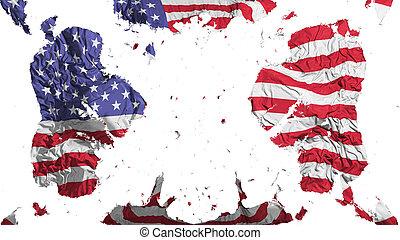 america, stati uniti diminuiscono, sparso
