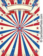 America vintage background