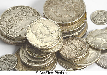 american ancien silver coins