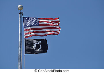 American and POW-MIA Flag - The Flag of the United States...