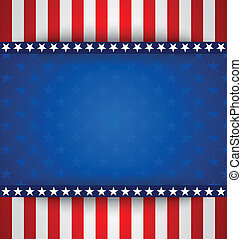 American background - American starry background with stars...