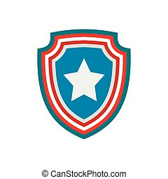 American badge icon