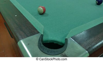 American billiards pool 8 on indoors a lifestyle table beginning of the game sport