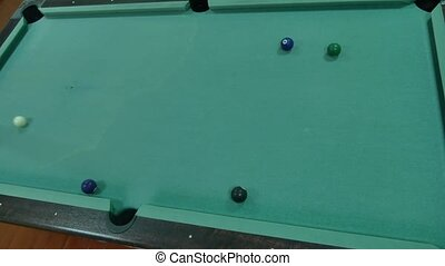 American billiards pool 8 on indoors table lifestyle beginning of the game sport