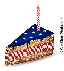 American Birthday Cake