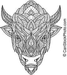 american-bison-head-geo