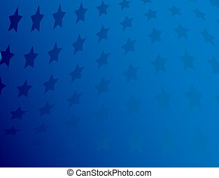 American blue patriotic background
