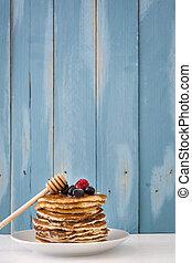 American breakfast Pancakes