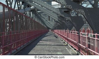 American Bridge Camera Moving forward