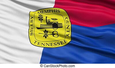 American City Flag of Memphis