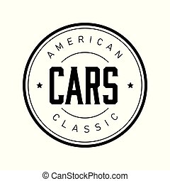 American Classic cars vintage