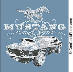 american classic sport car