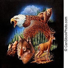 American - Eagle.