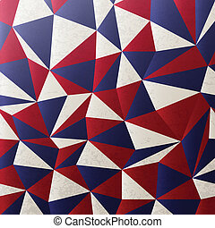 American colors abstract background. Vector, EPS10