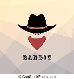 American cowboy icon