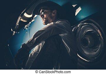 American Cowboy Portrait