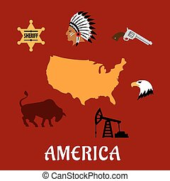 American cultural and historical symbols