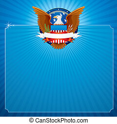 American Eagle - Background with American Eagle