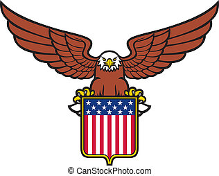 American eagle (usa shield)