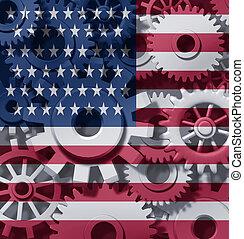 American Economy Symbol