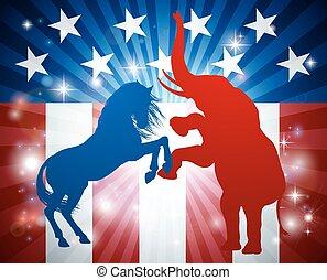 American Election Concept