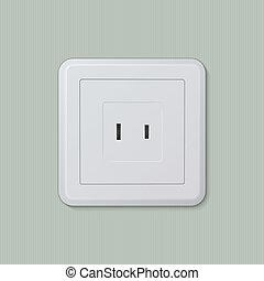 American electric socket 04