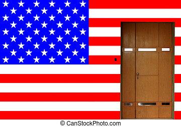 american entrance