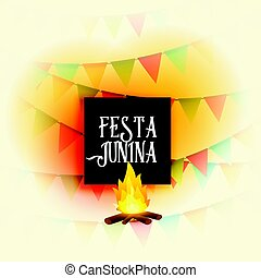 american festa junina holiday vector background