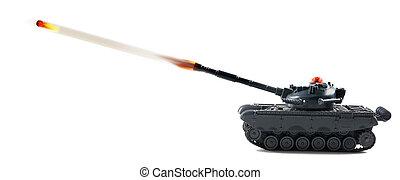 American fire power with tank firing.