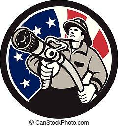 american-fireman-firefighter-hose CIRC GR USA-FLAG
