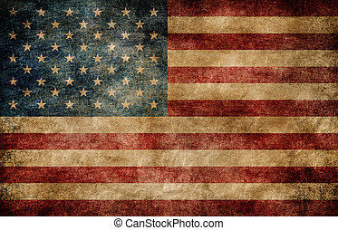American flag. - American flag background
