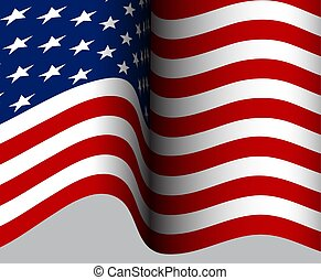 American Flag. American Flag background