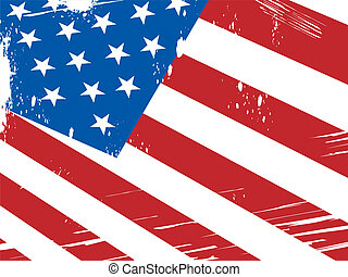 American Flag Background Means Patriotism And Nationalism -...