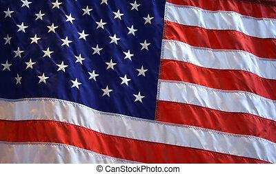 American Flag Background - Patriotic American flag...