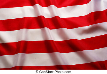 American Flag background with red and white stripes