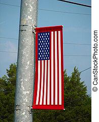 American Flag Decora