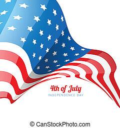 american flag design - american flag stylish design...