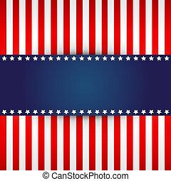 American flag design  - elegant design for american flag