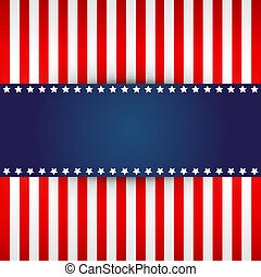 American flag design  - elegant design for american flag
