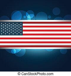 american flag vector design illustration