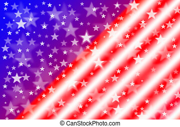 American flag for background