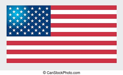 American Flag for Independence Day.
