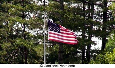 American Flag Fourth of July