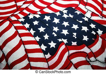 American Flag Image - Beautiful , yet simple, image of the...